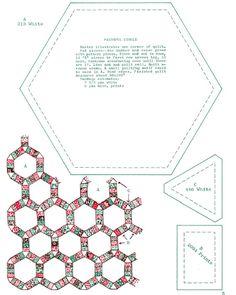 Printable English Paper Piecing Templates .