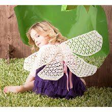 Crochet Fairy Wings.