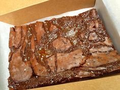 Salted Caramel Brownies from Charm City Cook