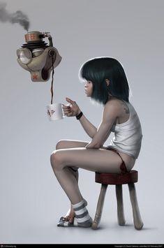 — MUmorning by David Cabrera | 2D | CGSociety
