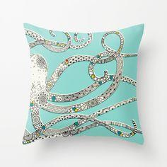 Jewel Octopus Pillow