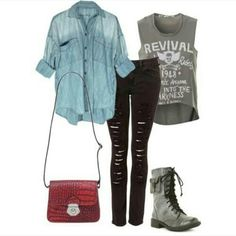 Rock/Edgy outfit
