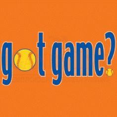 Game softball