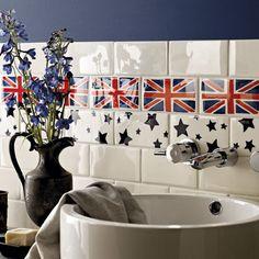 Union Jack rules in Interior Design
