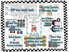 """Celebrating the 50th day of school """"50s"""" style."""