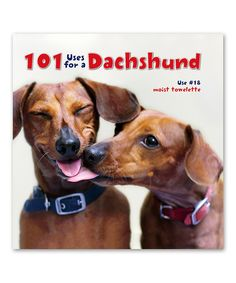 101 Uses for a Dachshund - omg, so cute!