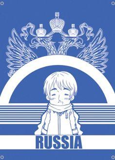 Hetalia Flag: Russia $16.49 on RightStuf #Hetalia #anime #FUNimation