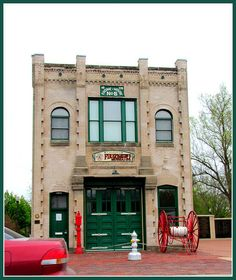Engine House No. 6 in Wichita is now the Kansas Firefighter's Museum.