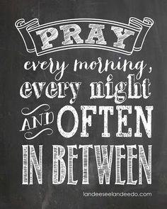 Pray Printable