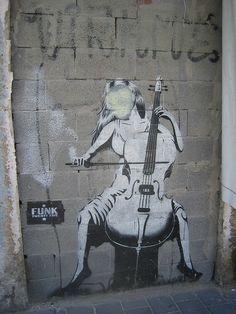 Tel Aviv graffiti #music #cello
