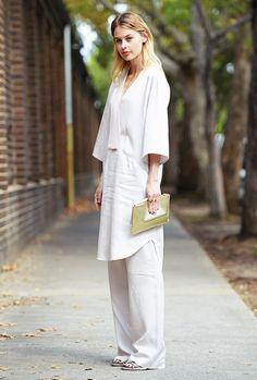 White Beauty Tunic