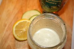 Honey and Goat Cheese salad dressing