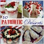 CONFESSIONS OF A PLATE ADDICT: 10 Easy Patriotic Desserts