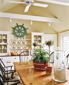 Nantucket Dream On Pinterest Nantucket Style Interior Design And Home Decor Kitchen