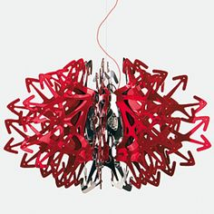 Here is the Devil Lamp by Italian lighting company SLAMP. I love how it is simple and complex all at once, chaotic but beautiful just the same.