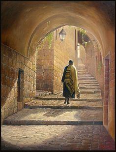 Shabbat in Old City.