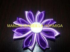 Manualidades y accesorios la hormiga. tutorial flores en cinta  No.119