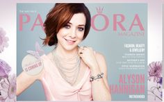 Meet lovely actress Alyson Hannigan to a chat about motherhood in PANDORA Magazine. #PANDORAmagazine #PANDORAcelebrity magazine covers, pandora magazin, actress