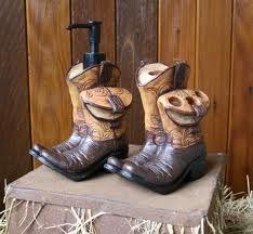 Cowboy boot bathroom set-Cowboy Concepts