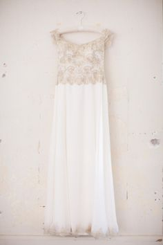 Wedding Gown by Atelieres des Modistes  | Photography: Lori Paladino Photography  | See the Wedding on SMP: http://stylemepretty.com/2013/05/21/sausalito-wedding-from-lori-paladino-photography/