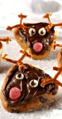 Cookie Reindeer Recipe