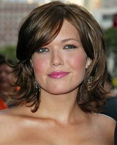 Medium Hairstyles 2013 for Thick Wavy Hair