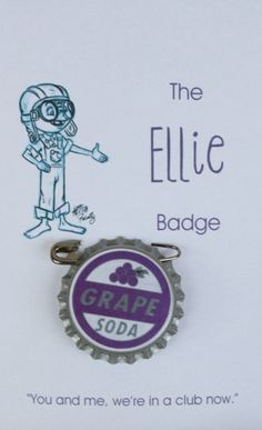 Ellie Badge 2pk private listing Carly by GSFOoL on Etsy