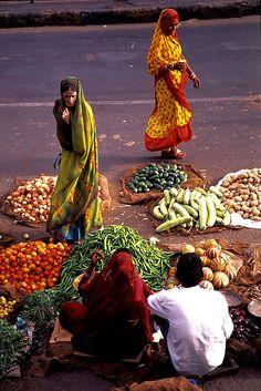 Vegetable Street Market.