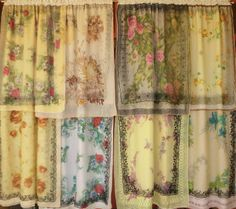 GATE AND GARDEN   Handmade Gypsy Curtains by BabylonSisters