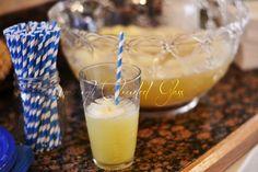 Pineapple Sherbet Punch