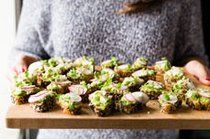 Avocado, radish, feta and microgreens tartines for La Presse+