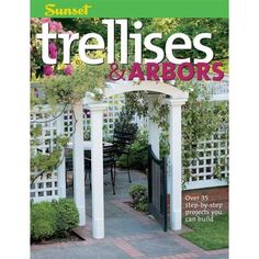 This Sunset book on patios and arbors has some great tips and design ideas to broaden your thinking about patios and pergolas. To get online inspiration, visit: http://www.landscapingnetwork.com/pergolas/