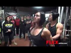 ▶ Dana linn bailey Warhouse Gym Camp Part 4 - BACK