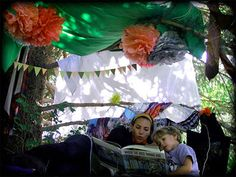 Home-made forts: one of the best things in life
