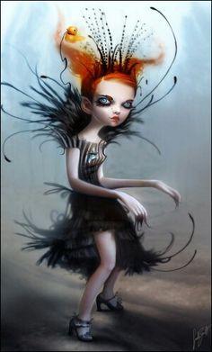 This creepy doll is the vampire princess Nicoletta.....♥it..