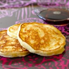 chees pancak, cottage cheese pancakes, food, vanilla extract, cottages, maple syrup, pancake recipes, cottag chees, kid
