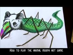 How to PLAY Animal Morph ART GAME by Mr. Otter Art Studio. The creative possibilities are endless with this thought provoking and laugh filled game called The Animal Morph Art Game.