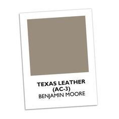 Texas Leather | Take this ranch-inspired color beyond Texas. A brick home painted a dark brown comes alive with charming pale blue shutters and doors. #paintcolors | SouthernLiving.com