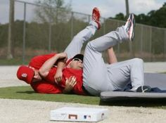 Lance Berkman and Matt Holliday