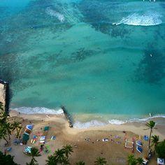 Waikiki from above #instagram
