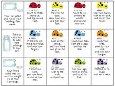 Listening Ladybugs - following multistep directions listen ladybug, following directions, speechi, speech therapi, slp, direct activ, educ, school idea, sublim speech