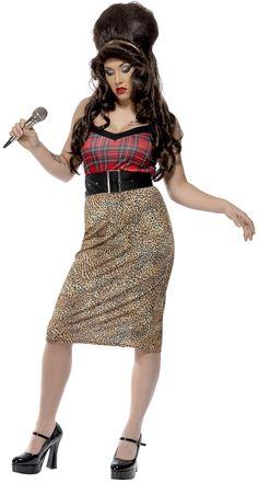Disfraz de cantante para mujer. Disponible en www.vegaoo.es