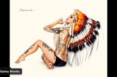 Native American hotness