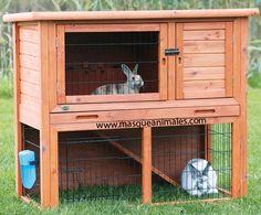 Jaulas para conejos, jaulas 2 pisos conejos