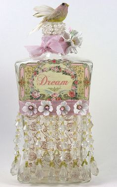 Bottle of Dreams by Shabby Cottage Studio