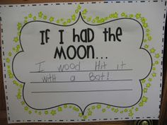 Kindergarten Hoppenings: A Climb to the Moon