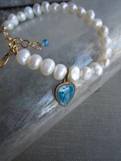 ❥ pearl bracelet