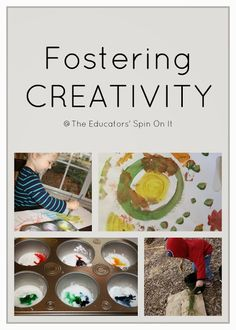 The Educators' Spin On It: How to Foster Creativity and Problem Solving - (Tot School)