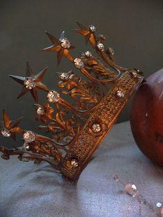 princess, tiara, crowns, copper, queen, fairi, crochet purses, costume parties, thing
