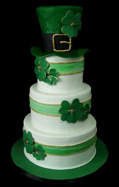 St. Patrick's Day Wedding!  |  by City Girl Cakes